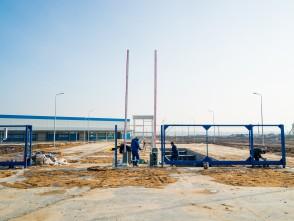 Ноябрь 2017. Проведение работ по внутренней отделке здания комбината